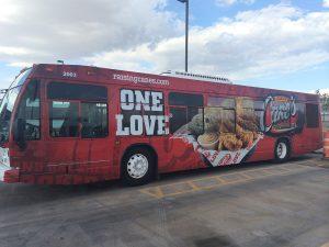 Custom Promotional Bus Wrap